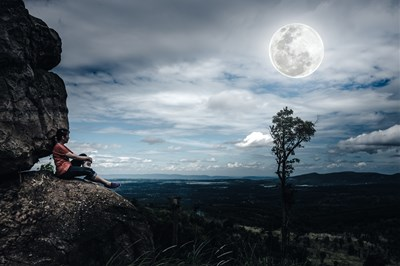 今日は豊かさと、五感に響く事に着目♪牡牛座満月からのメッセージ。