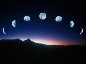 月と共に。あなたにとってのゆく年くる年に思いをのせて