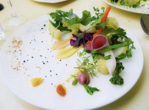 引き寄せの上弦の月、「幸せ」を引き寄せたいあなたのための、笑顔と春野菜サラダのススメ(レシピあり)