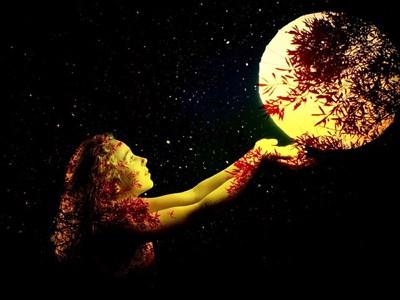 満月とは「月のエネルギーが最大に満ちる」時~今宵は内なる声に目覚め、心からの感謝を~