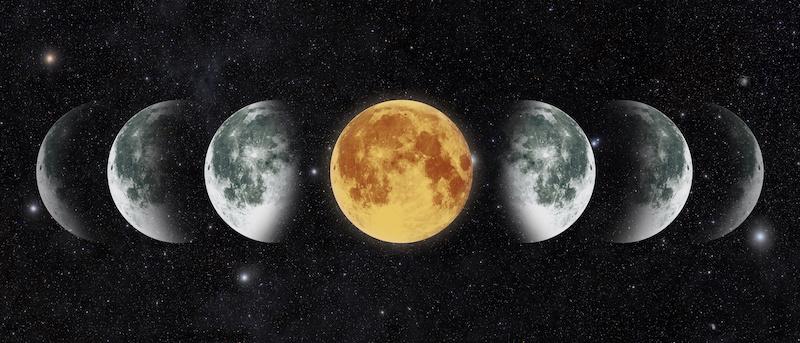 月相【月の輝きが伝えるあなたのエネルギー】