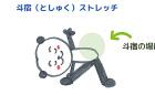 腰のストレッチ~斗宿<br>【宿曜ストレッチ】