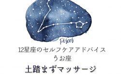 うお座【12星座のセルフケアアドバイス】
